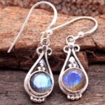 Labradorite-Gemstone-Sterling-Silver-Drop-Earrings-for-Women-and-Girls-Bezel-Set-Ear-Wire-Earrings-Blue-Bridesmaid-Ear-B08K61D9TT