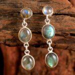 Labradorite-Gemstone-Sterling-Silver-Drop-Earrings-for-Women-and-Girls-Bezel-Set-Pushback-Earrings-Blue-Bridesmaid-Ear-B08K64CM3K