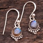 Labradorite-Gemstone-Sterling-Silver-Small-Dangle-Earrings-for-Women-and-Girls-Bezel-Set-Ear-Wire-Earrings-Blue-Brides-B08K613PPC-2