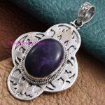 Lapis-Lazuli-Pendant-925-Sterling-Silver-Pendants-for-Womens-Oval-Gemstone-Pendants-Handmade-September-Birthstone-Pen-B07V5V9L4V