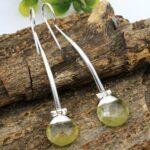Lemon-Topaz-Gemstone-Sterling-Silver-Drop-Earrings-for-Women-and-Girls-Bezel-Set-Fishhook-Earrings-Yellow-Bridesmaid-E-B08K64QPCF