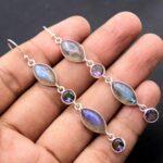 Moonstone-Gemstone-Sterling-Silver-3-tier-Drop-Earrings-for-Women-and-Girls-Bezel-Set-Ear-Wire-Earrings-White-Bridesma-B08K5ZWPHH-2