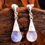 Moonstone-Gemstone-Sterling-Silver-Bead-Drop-Earrings-for-Women-and-Girls-Bezel-Set-Pushback-Earrings-White-Bridesmaid-B08K61RBXF
