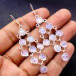 Moonstone-Gemstone-Sterling-Silver-Boho-Chandelier-Earrings-for-Women-and-Girls-Bezel-Set-Ear-Wire-Earrings-White-Brid-B08K63KFW3-2