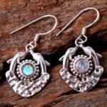 Moonstone-Gemstone-Sterling-Silver-Dangle-Earrings-for-Women-and-Girls-Bezel-Set-Ear-Wire-Earrings-White-Bridesmaid-Ea-B08K614T8F-2