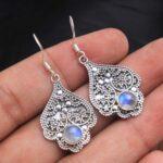 Moonstone-Gemstone-Sterling-Silver-Designer-Dangle-Earrings-for-Women-and-Girls-Bezel-Set-Ear-Wire-Earrings-White-Brid-B08K5ZYWZ4