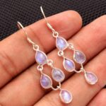 Moonstone-Gemstone-Sterling-Silver-Designer-Drop-Earrings-for-Women-and-Girls-Bezel-Set-Ear-Wire-Earrings-White-Brides-B08K63RC2S-2