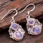 Moonstone-Gemstone-Sterling-Silver-Drop-Earrings-for-Women-and-Girls-Bezel-Set-Ear-Wire-Earrings-White-Bridesmaid-Earr-B08K63WFZR-2