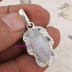 Moonstone-Pendant-925-Sterling-Silver-Pendants-for-Womens-Marquise-Gemstone-Pendants-Handmade-June-Birthstone-Pendant-B07V7WVKT7