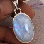 Moonstone-Pendant-925-Sterling-Silver-Pendants-for-Womens-Oval-Gemstone-Pendants-Handmade-June-Birthstone-Pendants-S-B07V6Y6L6X