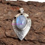 Moonstone-Pendant-925-Sterling-Silver-Pendants-for-Womens-Round-Gemstone-Pendants-Handmade-June-Birthstone-Pendants-B07V4RQR73