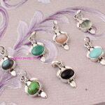 Multi-Gemstone-Pendant-925-Sterling-Silver-Pendants-for-Womens-Oval-Gemstone-Pendants-Handmade-Pendants-B07V3RPBS1