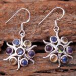 Mystic-Topaz-Gemstone-Sterling-Silver-Multistone-Dangle-Earrings-for-Women-and-Girls-Bezel-Set-Ear-Wire-Earrings-Multi-B08K5YLTCS-2