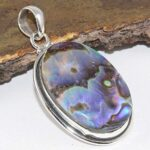 Natural-Abalone-Shell-Pure-925-Sterling-Silver-Pendant-Handmade-Jewelry-For-Womens-Gift-B07KKPDBZY