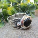 Natural-Black-Onyx-925-Sterling-Silver-Ring-Gemstone-Handmade-Jewelry-for-Women-B07L2VHZM9