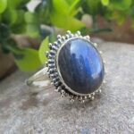 Natural-Labradorite-Solid-925-Sterling-Silver-Solitaire-Ring-Handmade-Jewelry-B07L2V17KL
