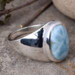 Natural-Larimar-mens-Ring-925-Solid-Sterling-Silver-Ring-mens-ring-mens-Gemstone-Ring-Larimar-ring-signet-rings-B07T7YTT33-6