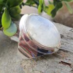 Natural-Rainbow-Moonstone-925-Sterling-Silver-Ring-Handmade-Jewelry-B07L2VCBDD
