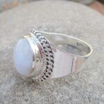Natural-Rainbow-Moonstone-925-Sterling-Silver-Ring-Handmade-Jewelry-B07L2VHNV9