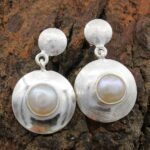 Pearl-Gemstone-Sterling-Silver-Dangle-Earrings-for-Women-and-Girls-Bezel-Set-Pushback-Earrings-White-Bridesmaid-Earrin-B08K62JP16-2