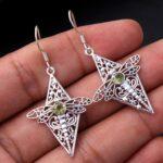 Peridot-Gemstone-Sterling-Silver-Dragonfly-Drop-Earrings-for-Women-and-Girls-Bezel-Set-Ear-Wire-Earrings-Green-Bridesm-B08K65GDV6
