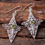 Peridot-Gemstone-Sterling-Silver-Dragonfly-Drop-Earrings-for-Women-and-Girls-Bezel-Set-Ear-Wire-Earrings-Green-Bridesm-B08K65GDV6-2