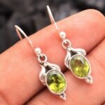 Peridot-Gemstone-Sterling-Silver-Drop-Earrings-for-Women-and-Girls-Bezel-Set-Ear-Wire-Earrings-Green-Bridesmaid-Earrin-B08K65GY6T-2