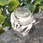 Prasiolite-Quartz-925-Sterling-Silver-Ring-Handmade-Jewelry-B07L2W6TRL