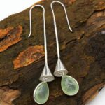 Prehnite-Gemstone-Sterling-Silver-Ring-Bell-Drop-Earrings-for-Women-and-Girls-Bezel-Set-Fishhook-Earrings-Green-Brides-B08K62FMTG