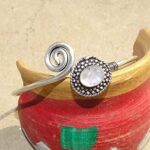 Rainbow-Moonstone-Gemstone-Cuff-BraceletDesigner-BraceletSolid-925-Sterling-Silver-BraceletPear-Shape-BraceletBracel-B084ZRZP4K