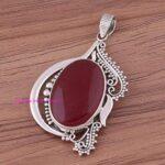 Ruby-Pendant-925-Sterling-Silver-Pendants-for-Womens-Oval-Gemstone-Pendants-Handmade-July-Birthstone-Pendants-Design-B07V4RRJZN