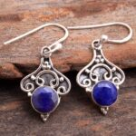 Sapphire-Gemstone-Sterling-Silver-Dangle-Earrings-for-Women-and-Girls-Bezel-Set-Ear-Wire-Earrings-Blue-Bridesmaid-Earr-B08K61742F-2