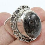 Solid-925-Sterling-Silver-Black-Onyx-Handmade-Ring-B07L2SX8NS