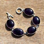 Solid-925-Sterling-Silver-Natural-Amethyst-Gemstone-Bracelet-Jewelry-Sz-21-CM-Valentines-Day-Gift-for-Women-Valentine-B07N319DHC