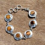 Solid-925-Sterling-Silver-Natural-Tigers-Eye-Gemstone-Bracelet-Jewelry-Sz-22-CM-Valentines-Day-Gift-for-Women-Valent-B07N31C7B8