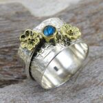 Spinner-Ring-labradorite-Ring-Two-Bend-Ring-Meditation-Ring-Handmade-Ring-925-Silver-Ring-Anxiety-Ring-Women-Ring-B07TF6NVDJ