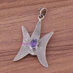 Tanzanite-Pendant-925-Sterling-Silver-Pendants-for-Womens-Oval-Gemstone-Pendants-Handmade-September-Birthstone-Pendan-B07V4RRPNB