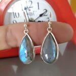 Teardrop-Earrings-for-Mother-Labradorite-Earrings-for-Women-925-Sterling-Silver-Earrings-Turquoise-Earrings-Availabl-B07K196KN9-6