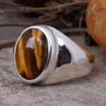 Tiger-Eye-Man-Ring-Gift-for-Him-Gemstone-Signet-Ring-Man-Silver-Ring-Handmade-Ring-Tiger-Eye-Pinky-Ring-Man-Signe-B07T7DYP8Z-2