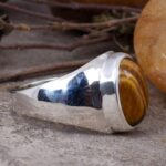 Tiger-Eye-Man-Ring-Gift-for-Him-Gemstone-Signet-Ring-Man-Silver-Ring-Handmade-Ring-Tiger-Eye-Pinky-Ring-Man-Signe-B07T7DYP8Z-4