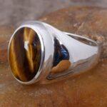 Tiger-Eye-Man-Ring-Gift-for-Him-Gemstone-Signet-Ring-Man-Silver-Ring-Handmade-Ring-Tiger-Eye-Pinky-Ring-Man-Signe-B07T7DYP8Z-5