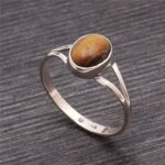 Tiger-Eye-Ring-Sterling-Silver-Ring-Tiger-Eye-Silver-Ring-Gemstone-Ring-Natural-Tiger-Eye-Ring-Oval-Shape-Ring-B07VDCQVJ5