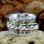 Tri-Tone-Spinner-Band-Ring-Solid-925-Sterling-Silver-B07L2VBBGP