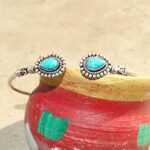 Turquoise-Cuff-BraceletSolid-925-Sterling-Silver-BraceletPear-Shape-BraceletBraceletGift-For-HerHandmade-Cuff-Brace-B084ZY2SS6-3