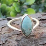 Turquoise-Gemstone-925-Sterling-Silver-Ring-Handmade-Jewelry-B07L2DRS6Z