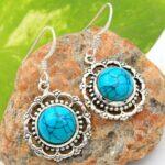 Turquoise-Gemstone-Sterling-Silver-Charm-Dangle-Earrings-for-Women-and-Girls-Bezel-Set-Ear-Wire-Earrings-Turquoise-Bri-B08K61LTGV