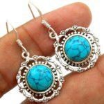Turquoise-Gemstone-Sterling-Silver-Charm-Dangle-Earrings-for-Women-and-Girls-Bezel-Set-Ear-Wire-Earrings-Turquoise-Bri-B08K61LTGV-2