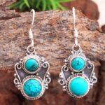 Turquoise-Gemstone-Sterling-Silver-Dangle-Earrings-for-Women-and-Girls-Bezel-Set-Ear-Wire-Earrings-Turquoise-Bridesmai-B08K5ZZFJ1-2
