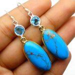 Turquoise-Gemstone-Sterling-Silver-Drop-Earrings-for-Women-and-Girls-Bezel-Set-Ear-Wire-Earrings-Blue-Bridesmaid-Earri-B08K62GCXP