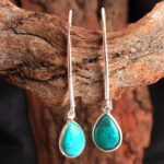 Turquoise-Gemstone-Sterling-Silver-Drop-Earrings-for-Women-and-Girls-Bezel-Set-Fishhook-Earrings-Turquoise-Bridesmaid-B08K61QKXC-2